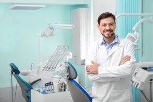 dentist in Lakewood smiling